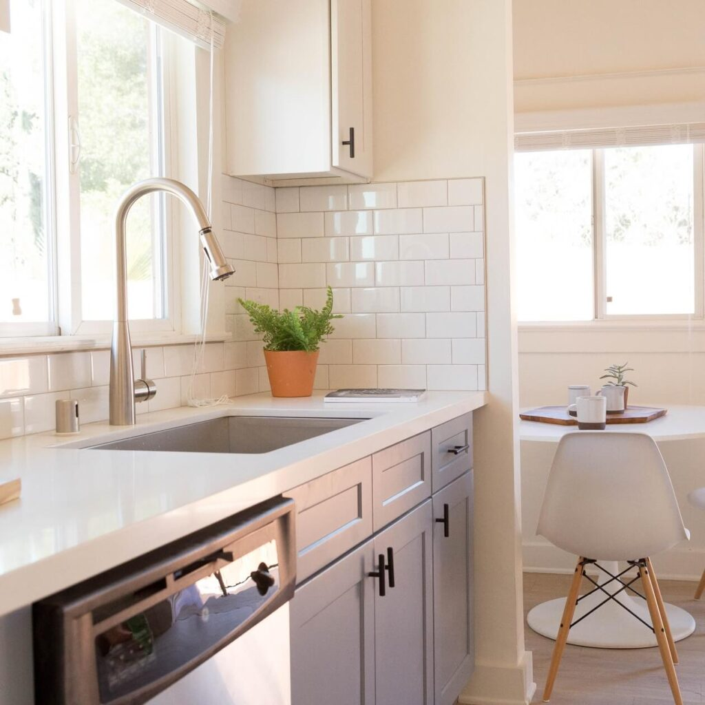 Renovations kitchen example.